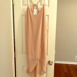 *NWT* Naked Zebra Tulip Front Ankle Dress